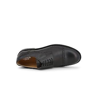 Madrid - Shoes - Lace-up shoes - 607_PELLE_NERO - Men - Schwartz - EU 42