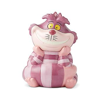 Grinning Cheshire Cat Serves Cookie Jar