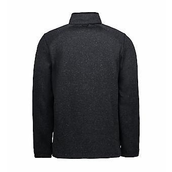 ID Mens ZipNMix Melange Fleece