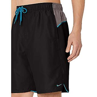"Nike Swim Men's Color Surge 9"" Volley Short Swim Trunk, Svart, X-Large"