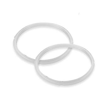 Silicone 2X 4L Pressure Cooker Seal Ring Replacement Spare Parts