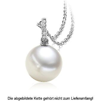Luna-Pearls - Pendant Brilliant - White Gold 750/- South Seas-ZP 10-10.5 mm 2040427