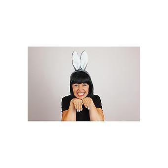 Accesorios para el cabello Bunny Rabbit konijn Oortjes Grijs