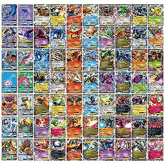 300 Pcs Gx 20 60 100pcs Mega Shining Tomy Pokemon Cards Vmax Game Battle Carte Tag Team Anime Trading Cards Album Book Kids Toys
