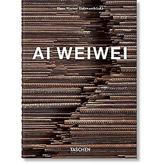 Ai Weiwei  40th Anniversary Edition by By artist Ai Weiwei & Edited by Hans Werner Holzwarth