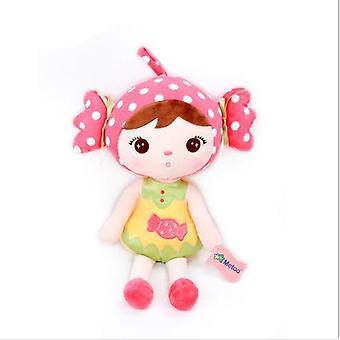 Brinquedo de boneca de desenho animado de 23cm recheado, pelúcia e macio