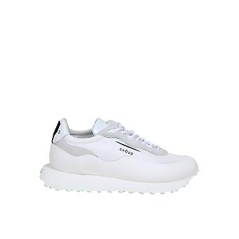 Ghoud Rglmml01 Men's White Leather Sneakers