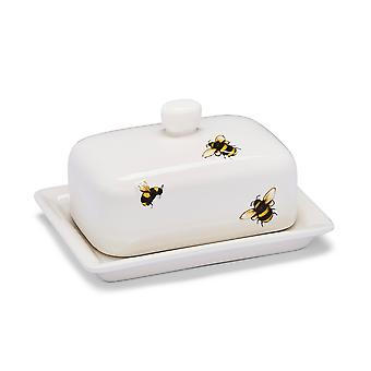 Cooksmart Bumble Bees Butter Dish