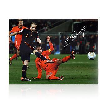Andres Iniesta podpisał Kontrakt z Hiszpanią Foto: Zwycięzca Pucharu Świata