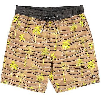 Lost risky e-waist beachshort khaki surburbia