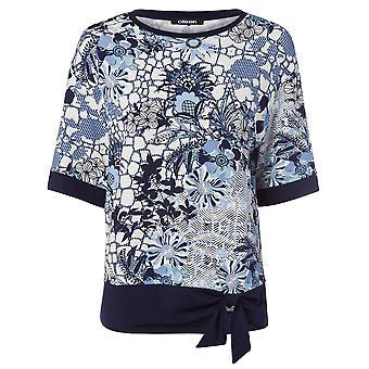 OLSEN Olsen Rokerig Blauw T-shirt 11103737