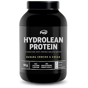 PWD Nutrition Hydrolean Protein Banana Cookies & Cream 1 Kg