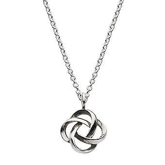 Heritage Sterling Silver Celtic Wreath Necklace 9293HP026