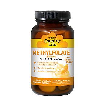 Country Life Methylfolate, 800 mcg, 60 Lozenges