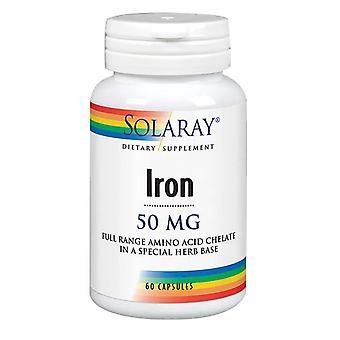 Solaray Jern, 50 mg, 60 Caps