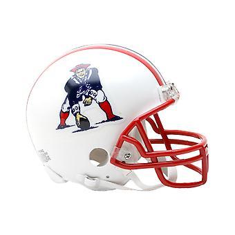 Riddell VSR4 Mini Football Helmet - New England Patriots 90-92