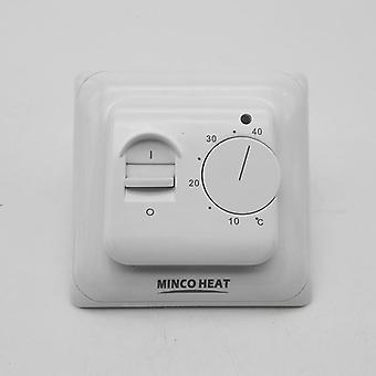 Electric Manual Floor Room Heating Thermostat Warm  220v 16a Temperature Controller Instrument