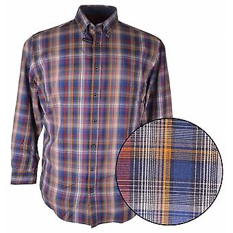 J.T. Ascott Long Sleeve Casual Check Shirt