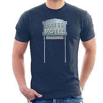 Psycho Bates Motel No Vacancy Men's T-Shirt
