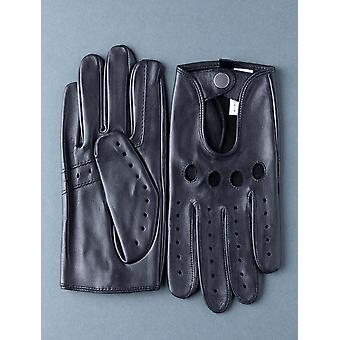 Monza läder körhandskar i svart