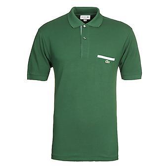 Camisa verde lacoste MC Homme Polo