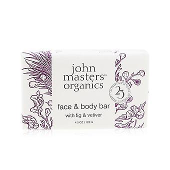 Face & Body Bar With Fig & Vetiver - 128g/4.5oz