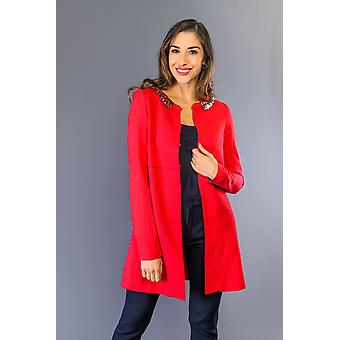 Jaquetas de morango e casaco