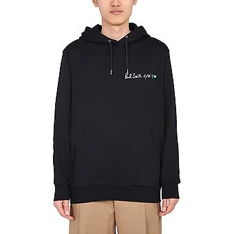 Paul Smith M1r180tep218179 Men's Black Cotton Sweatshirt