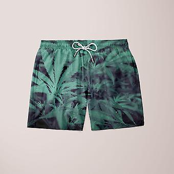 Shorts de weed de nuit fixés