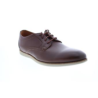 Clarks Raharto Plain Mens Brown Wide Oxfords & Lace Ups Plain Toe Schuhe