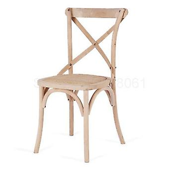 Solid Wood Dining Chair, Hotel Restaurant Hotel Chair