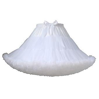 Petticoat Woman, Krótka Halloween Crinoline, Mini Ball Gown, Underskirt
