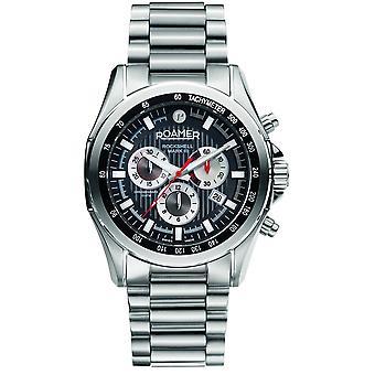 Roamer 220837 41 55 20 Rockshell Mark III Chronograph Wristwatch