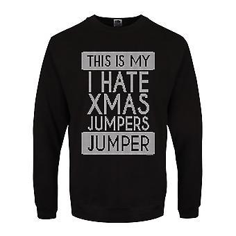 Grindstore Unisex Erwachsene dies ist mein ich hasse Xmas Jumper Weihnachten Jumper