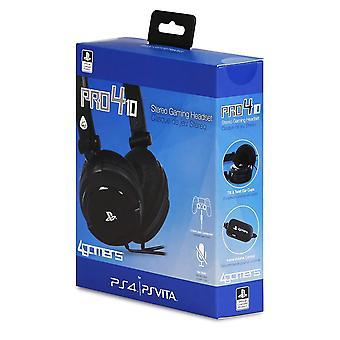 4Gamers Stereo Gaming Headset Dual Format  PS4 & PS Vita