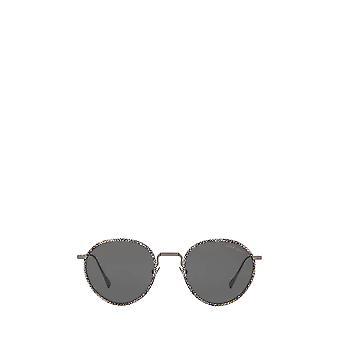 Giorgio Armani AR6103J óculos de sol unissex gunmetal fosco