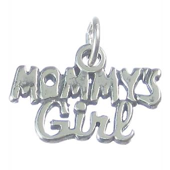 Mommys Girl Sterling Silver Charm .925 X 1 Love Charms - 3732