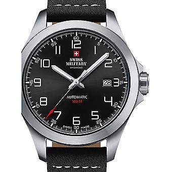 Reloj masculino militar suizo por Chrono SMA34077.01, Automático, 42mm, 10ATM
