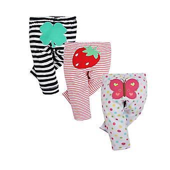 Divat Baby Pants, Pamut tavaszi és őszi újszülött leggings