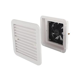12v 4w Frigo Vent With Fan For Rv Trailer Caravan Side Air Strong Wind