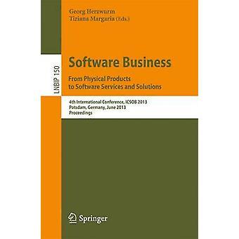 الأعمال البرمجيات. من المنتجات المادية إلى خدمات البرمجيات وهكذا