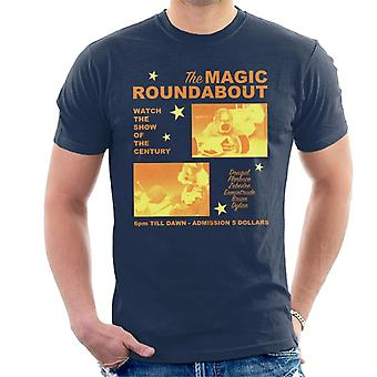 The Magic Roundabout Retro Show Poster Men's T-Shirt