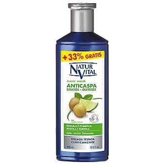 Naturaleza y Vida Anti-dandruff Shampoo Oily Hair 400 ml