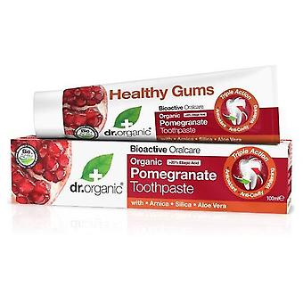 Dr. Organic Pomegranate Toothpaste 100 ml