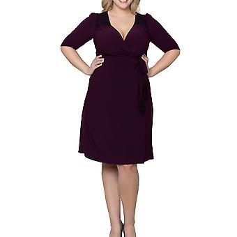 Kiyonna | Julieanne Wrap Dress