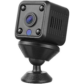Spy Camera, 1080P HD Mini WiFi Spy Camera, Mini Cam with Motion Detection and Night Vision Micro Spy for Indoor / Outdoor-black