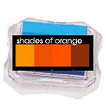 Uchida Blending Blox Ink Pads - Shades Of Orange