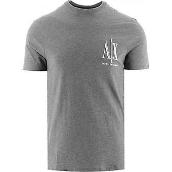 Armani Exchange Grey Logo T-Shirt