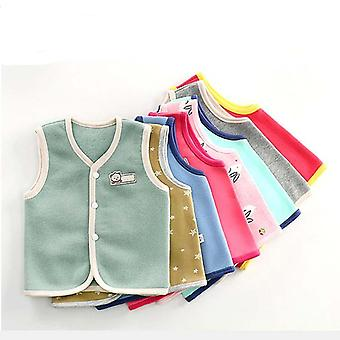 Baby Vest, Spring And Winter Warm Vest Pure Cotton