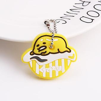 Cute Cartoon Keychain, Silicone Protective Key Case, Cover For Keys, Control
